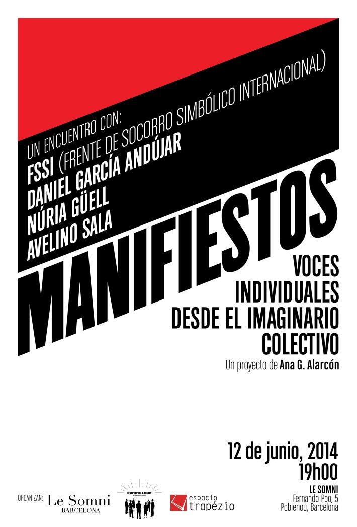 MANIFIESTOS Ana G. Alarcón