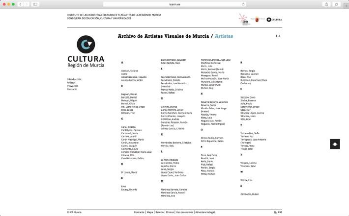 Archivo de Artistas Visuales de Murcia