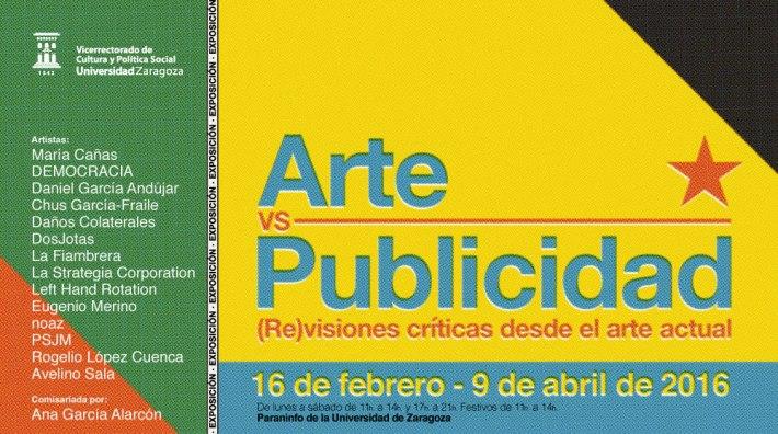 Arte Vs Publicidad exposición